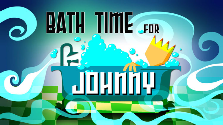 Bathtime for Johnny