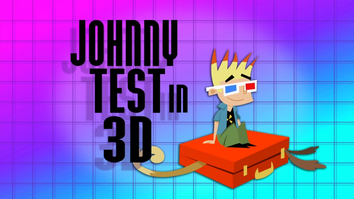 Johnny Test in 3D