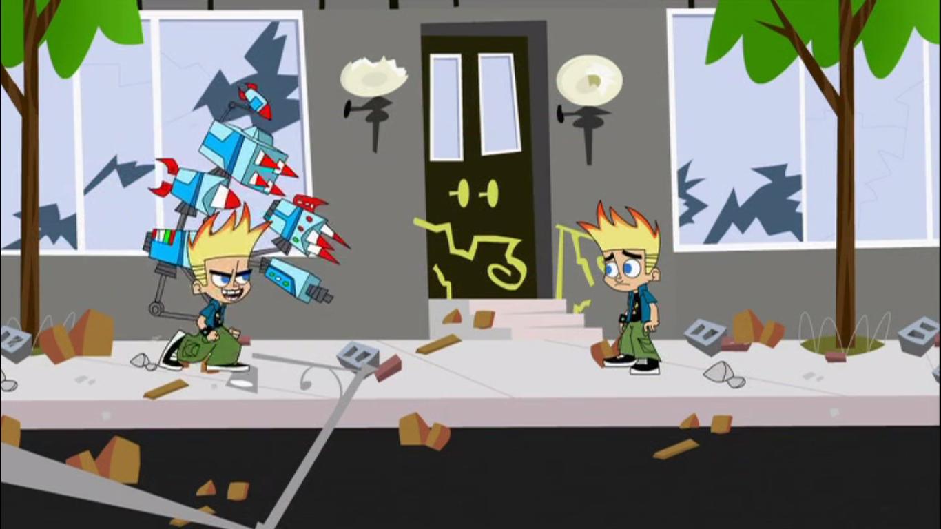 Johnny and Dukey robots