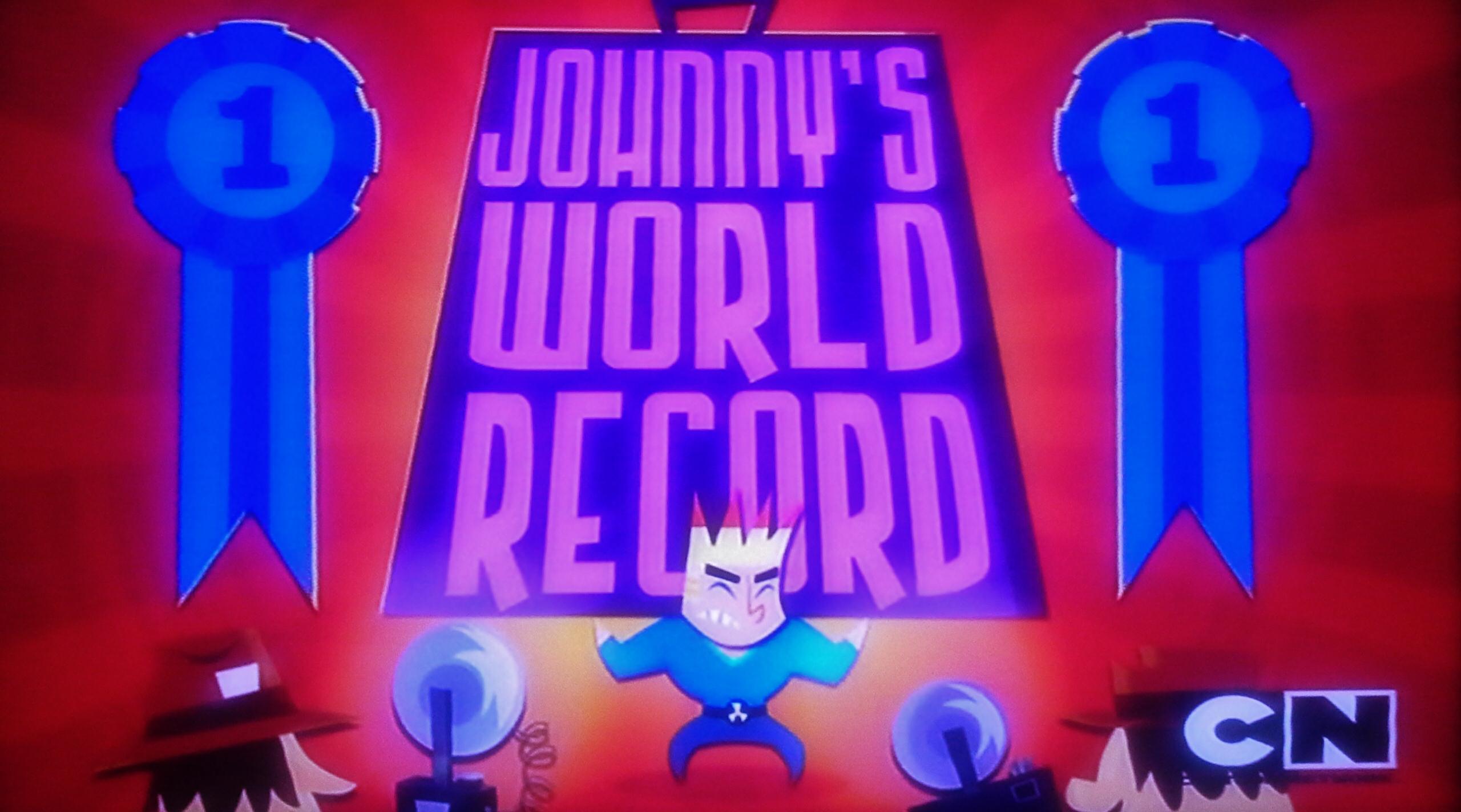 Johnny's World Record