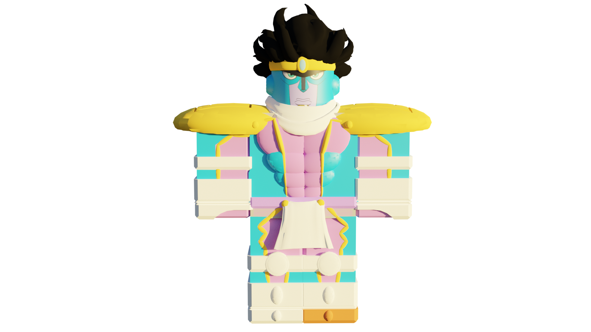 Star Platinum The World Jojo Blox Wiki Fandom