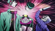 Yoshihiro decapitates the duo