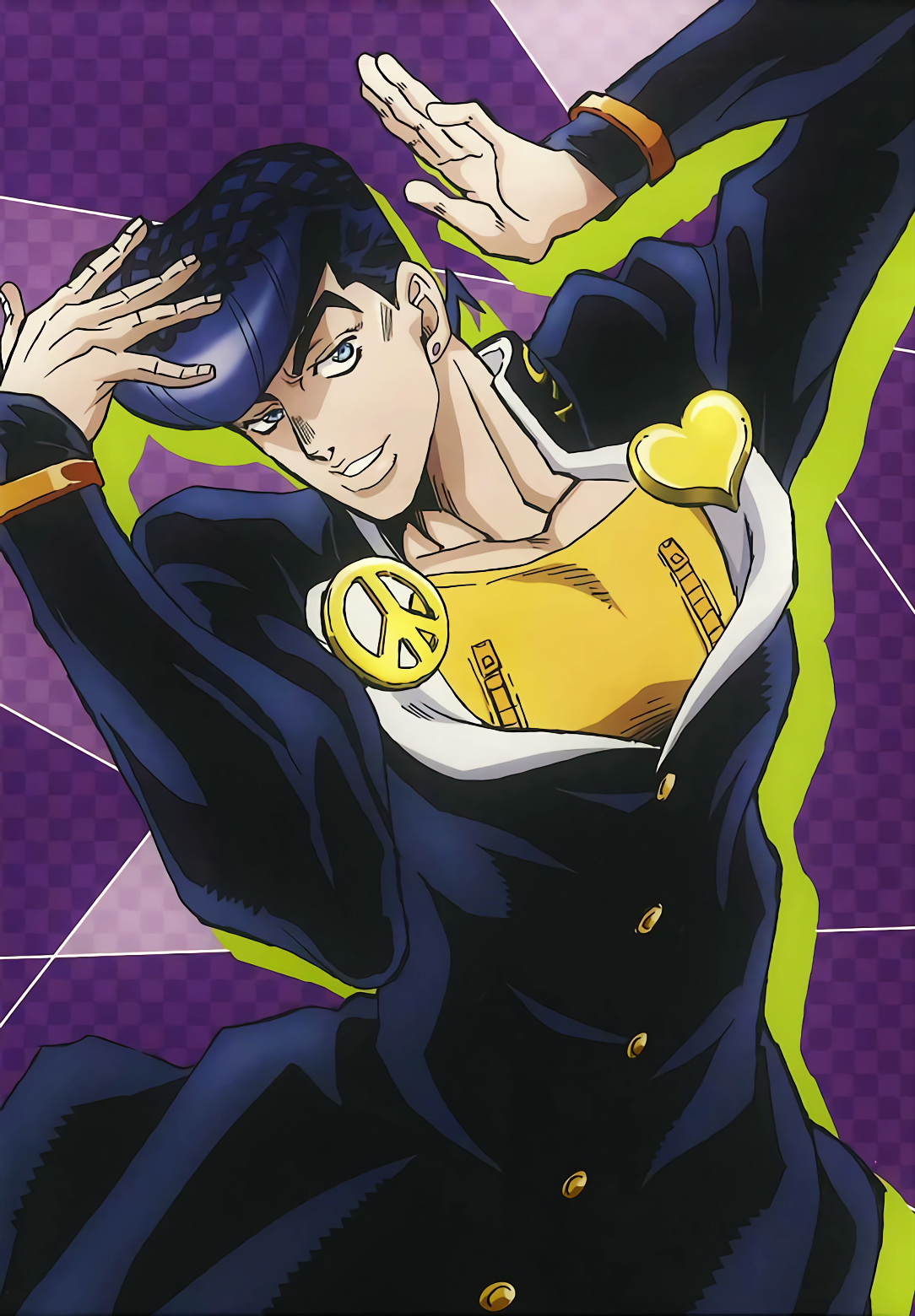 Josuke Pose : Here are some of the coolest jojo poses from.