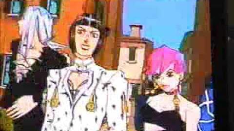 PS2 JoJo no Kimyō na Bōken - Ōgon no Kaze Trailer (2002)