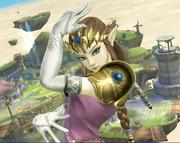 Zelda Smash Bros 3DS Wii U - Kars pose.png