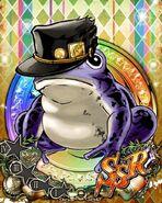 JJBASS FrogJotaroPurple