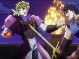 Fuego y Hielo, Jonathan y Dio (arco argumental)