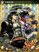 JJBASS Jotaro-StarPlatinum-punches