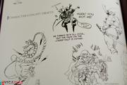 Darkstalkers artbook sketches Moody Blues.png