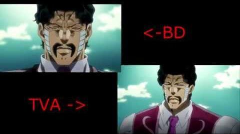 JOJO 죠죠 TVA vs BD