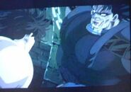 JoJo movie Tarkus attacks Jonathan