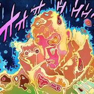Atums sight on Jotaro