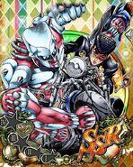 JJBASS Josuke-CrazyDiamond-bike