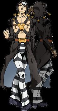 Risotto Nero anime