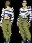 Model Sheet Satoru Nakae