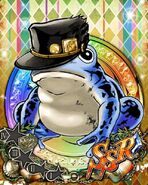 JJBASS FrogJotaroBlue