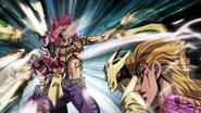 Diavolo es golpeado por GER (anime)