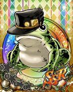 JJBASS FrogJotaroGreen