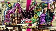 JoJo's Bizarre Adventure All Star Battle - Battle League Finals ROUND 1