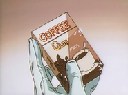 Coffee chewing gum