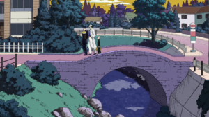 Morioh-countrybridge anime