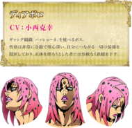 Diavolo anime perfil