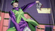 Rohan tearing out pages