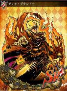 JJBASS DioBrando-burning