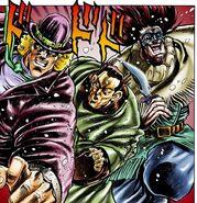 Speedwagon first appearance Chap 8