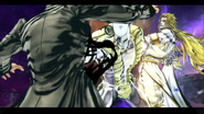 TWOH punches Jotaro
