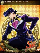 JJBASS Josuke-anime