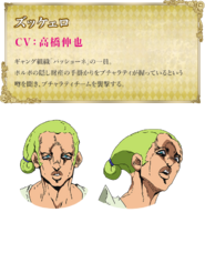 Mario Zucchero descripción anime