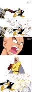 Daffy Duck destroy Saitama