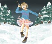 Frisk thinks she s a ballerina fairy princess by tiramiizu-da1cxko