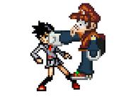Mayron punches Tatsuki Arisawa 1