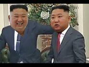 Kim Jong Un fighting Kim Jong Un in Verhovna Rada