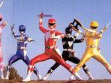 90s Power Rangers