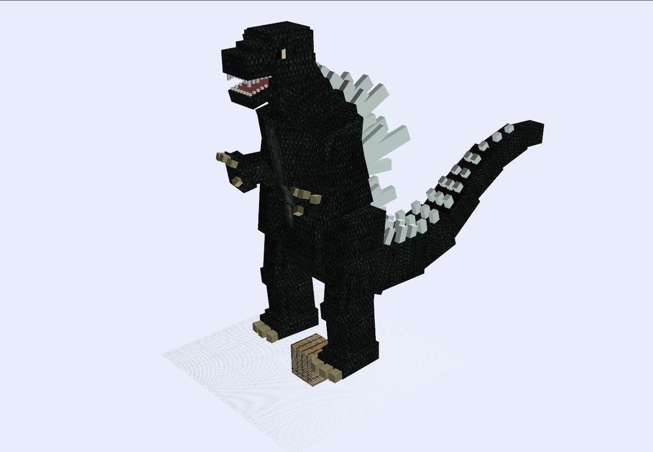 Godzilla (Minecraft)  Joke Battles Wikia  Fandom