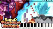 Vegito Blue Theme vs Cumber Theme (Piano)