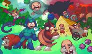 Megaman sprite game by brotoad-d6snwa5
