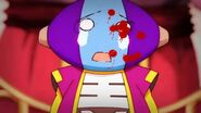 Zeno after he tried to fight Tails Doll