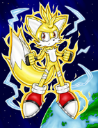 Super tails is born by dragonquesthero