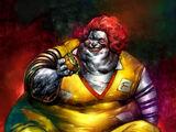 F A T Ronald McDonald