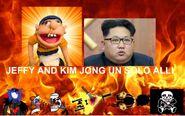Jeffy and Kim Jong Un solo all