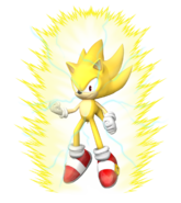 Sonic goes super saiyan 2 by foxmaster55-d9j457n