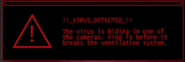 Virus message