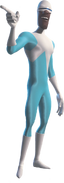 Frozone is the Man who Freezes & Uses Cold Drinks in The Incredibles