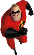 Mr. Incredible is the Big Man in The Incredibles