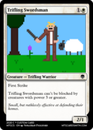 Trifling Swordsman