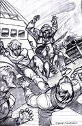 Jonny and Hadji sketch by Larry Navarro
